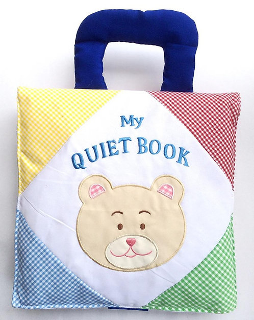 My Quiet Fabric Book Gingham