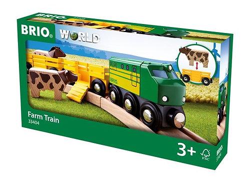 BRIO Farm Train 5 Pcs
