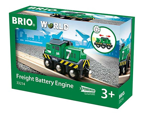 BRIO Freight Battery Engine with Light