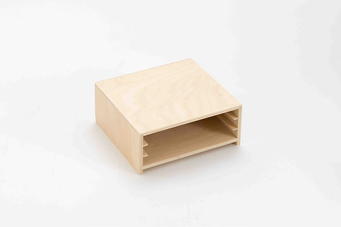 Wooden Storage for Set of 3 Plant Puzzle
