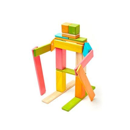 Tegu - 24 pieces Magnetic Wooden Blocks