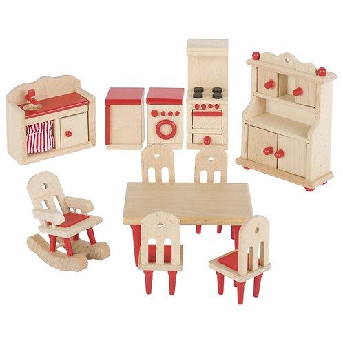 Goki Furniture For Flexible Puppets, Kitchen