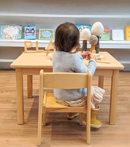 Montessori Toddler (12 - 36 months) CHAIR Solid European Beech Wood