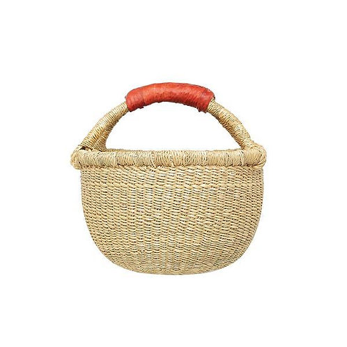 Round Shaker Basket - Natural Small 22-26cm
