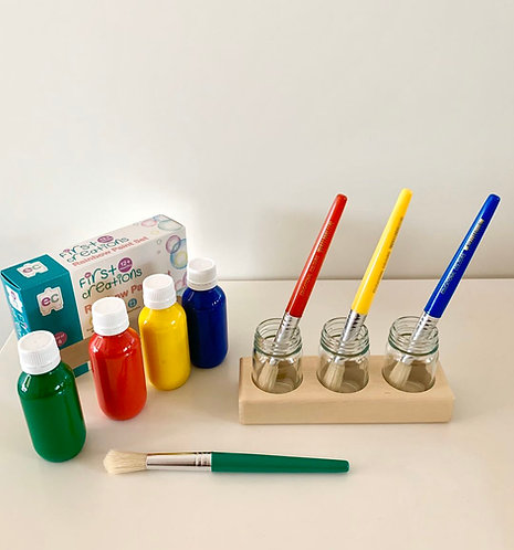 Stubby Paint Brush