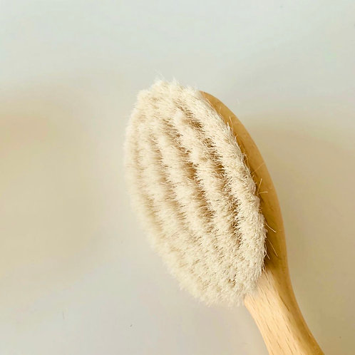 Baby Hair Brush - Goats hair