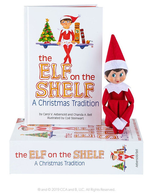 The Elf on the Shelf: A Christmas Tradition (Girl)