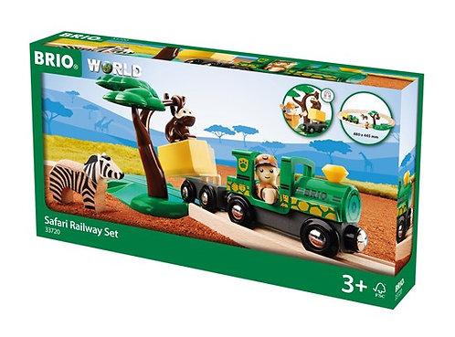 BRIO Safari Railway Set 17 Pcs