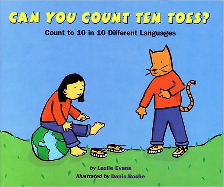 Can You Count Ten Toes?: Count to 10 in 10 Different Languages (Paperback)