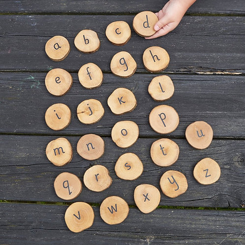 Magic Wood Alphabet Disks