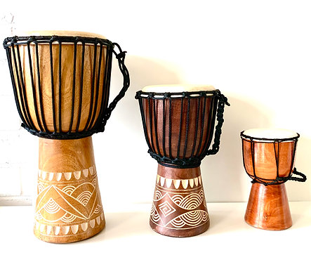 Hand made Djembe Drum - 40cm