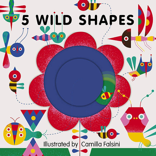5 Wild Shapes (Board Book)