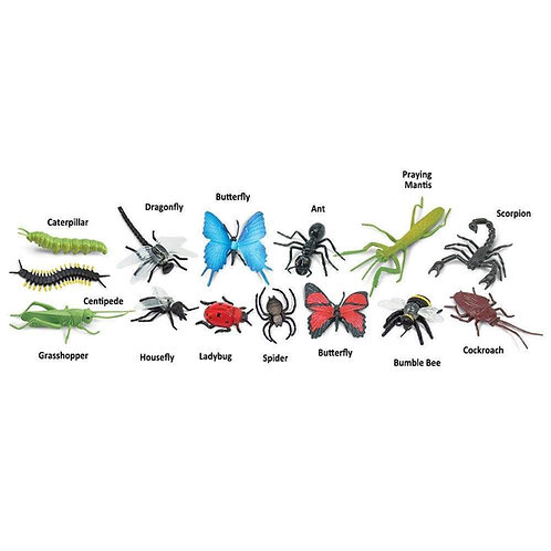 Insects Montessori Language Figurines Collection