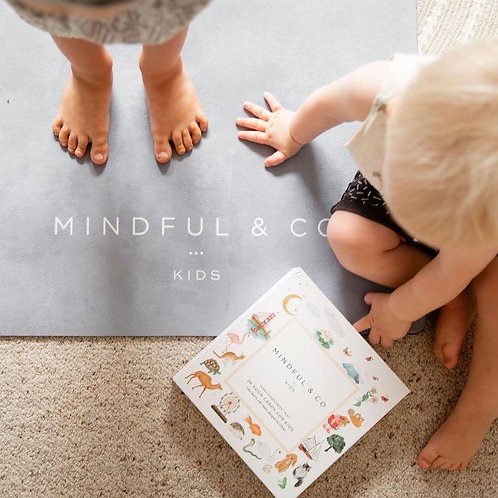 Kids Yoga Mat - Grey