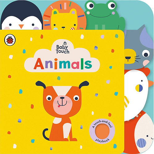 Baby Touch: Animals Tab Book (Board Book)