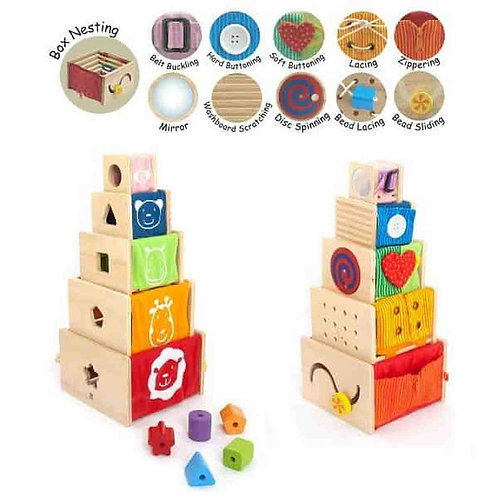 Montessori Activity Stackable Frames