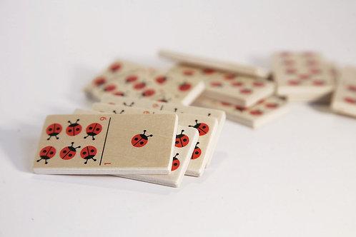 Goki Ladybirds Domino Game
