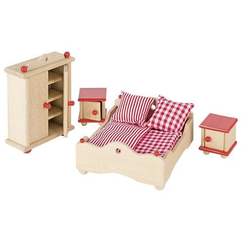 Goki Furniture For Flexible Puppets, Bedroom