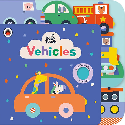 Baby Touch: Vehicles Tab Book (Board Book)