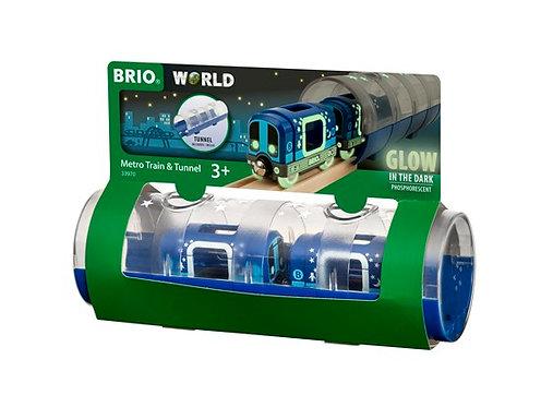 BRIO Metro Train & Tunnel 3 Pcs