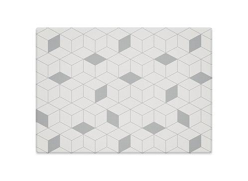 Little Wiwa Play Mat Labyrint Grey [GENERÖS] 200cm (L) x 140cm (W)