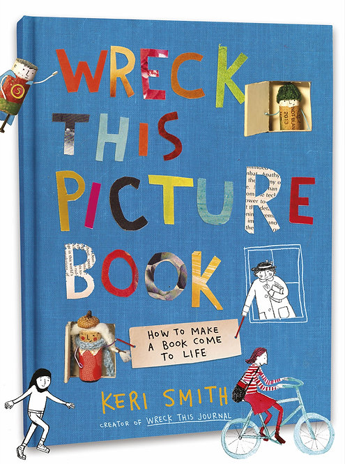 Wreck This Picture Book (Hardcover)