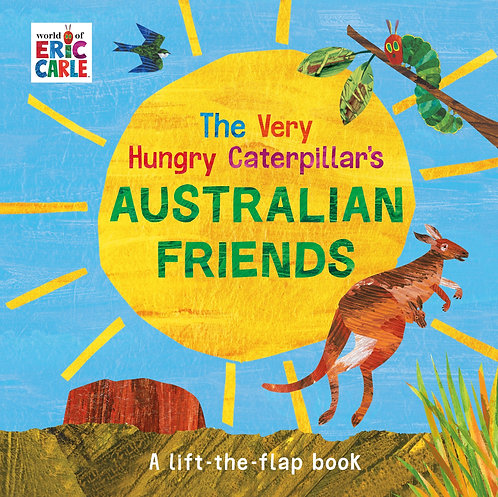 The Very Hungry Caterpillar's Australian Friends (Board Book)