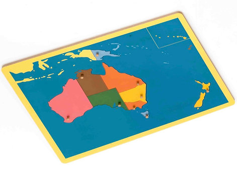 Oceania Map Puzzle