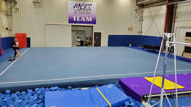 Meks Team Gym: Floor Area