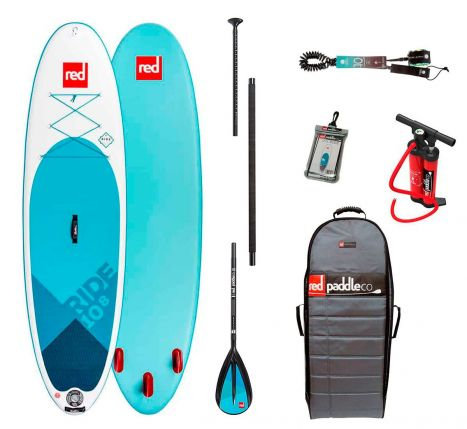 Red Paddle Co 10'8 ride 2019 pack