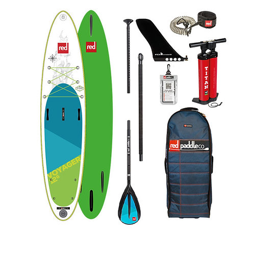 Red Paddle co 12'6 voyager 2019 pack