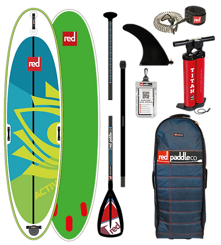 Red Paddle co 10'8 activ 2019 pack