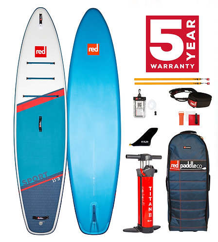 Red Paddle Co 11'3 sport 2021 pack carbon 50 nylon
