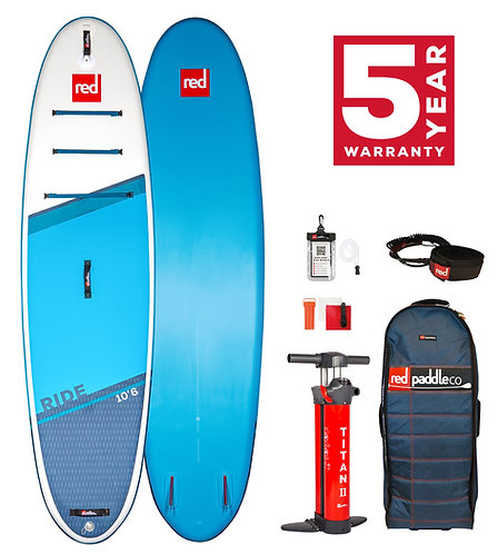Red Paddle Co 10'6 ride 2021 pack carbon 50 nylon