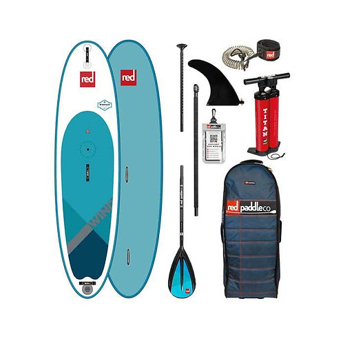 Red Paddle Co 10'7 wind 2019 pack