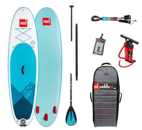 Red Paddle Co 10'6 ride 2019 pack