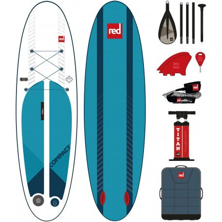 Red Paddle co 9'6 compact 2019