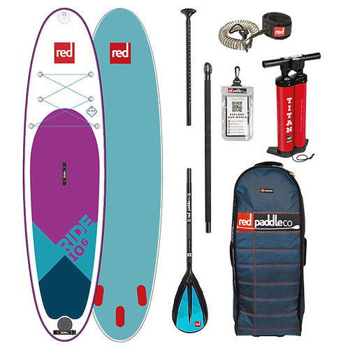 Red Paddle Co 10'6 ride SE 2019 pack