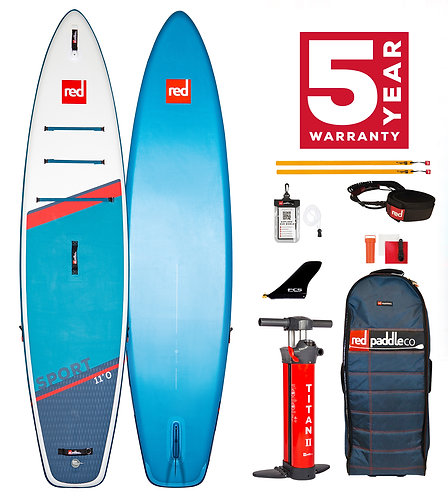 Red Paddle Co 11'0 sport 2021 pack carbon 50 nylon