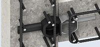 Passadores de carga transversal em juntas anti ruido , inorização e anti vibraticos vibração