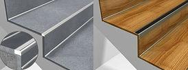 Proteccion de escaleras para garantizar la seguridad de sus usuarios y mejorar la sostenibilidad de los escaleras de un edificio, la instalación de una protección de escalera de aluminio antideslizante es auto-evidente.