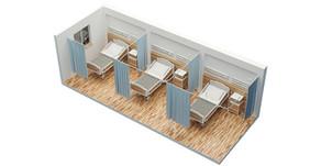 Venha conhecer o nosso novo sistema de cortinas hospitalares!