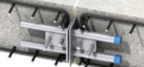 Passadores para transferencia de carga em juntas