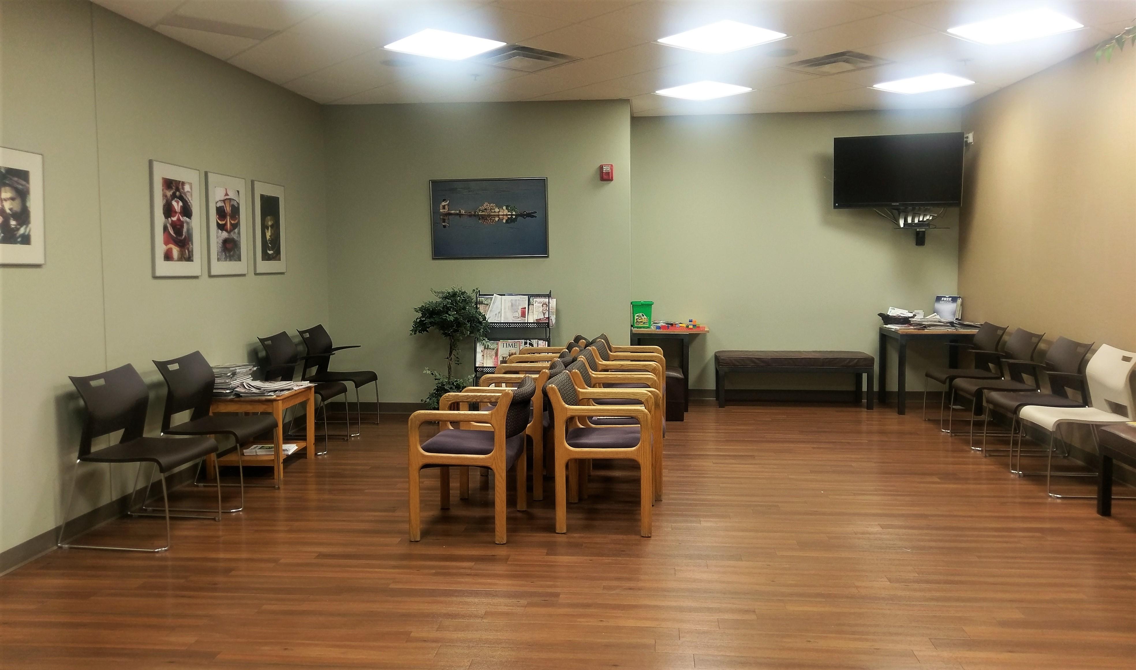 Dermatological Care, Inc. Waiting Area