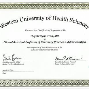 Western University Certification