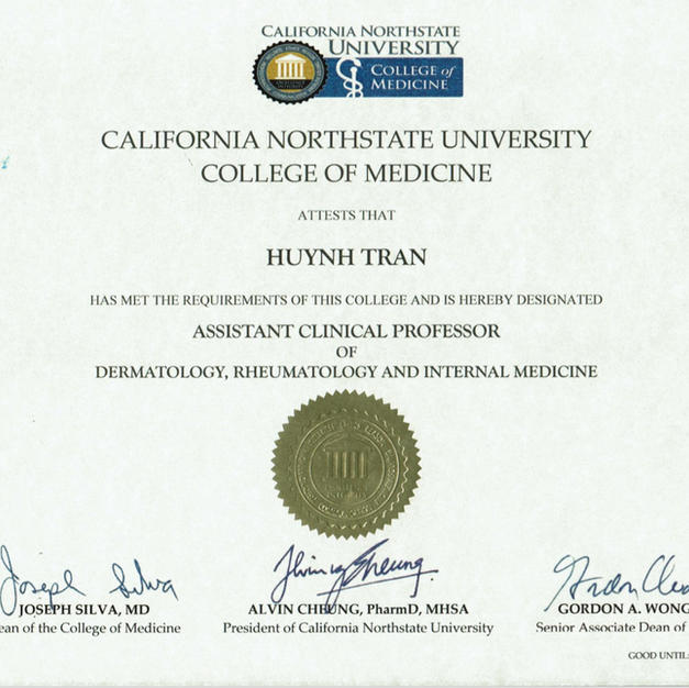 California Northstate University Certification