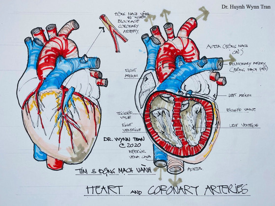 10 dấu hiệu nguy hiểm của bệnh tim mạch, phổi, và thận