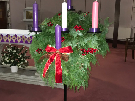 Blessing of Advent Wreath