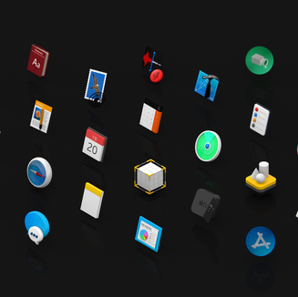 APPLE 3D ICONS