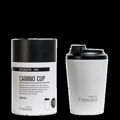 CAMINO SNOW 340ML REUSABLE COFFEE CUP
